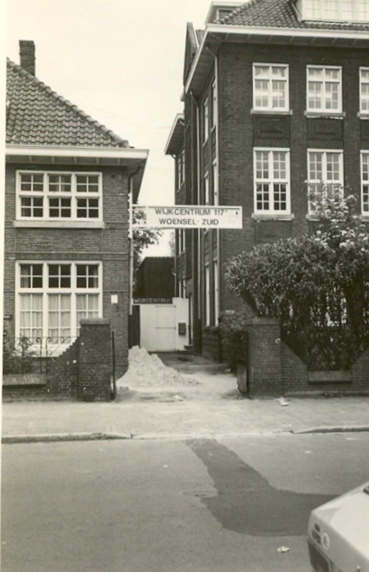 Datum onbekend, maar in de jaren 70 en 80 zat hier een wijkcentrum.